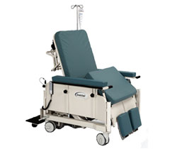 Stretchair 675 Central Lock Bariatric Patient Transfer Chair
